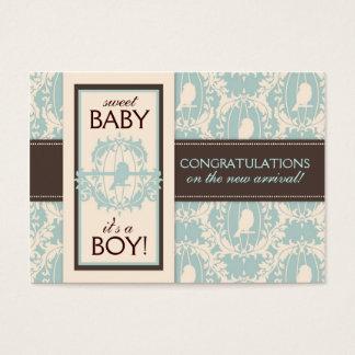 Tweet Tweet Boy Gift Tag