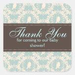 Tweet Tweet Boy Square Sticker