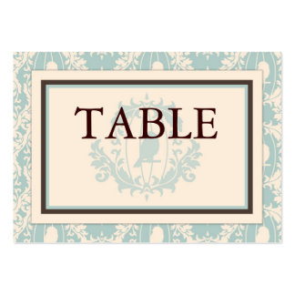 Tweet Tweet Boy Table Card Flat Mini Business Cards