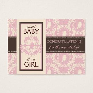 Tweet Tweet Girl Gift Tag