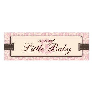 Tweet Tweet Girl Skinny Gift Tag Business Cards