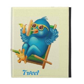 Tweet Tweet ipad Folio iPad Folio Cover
