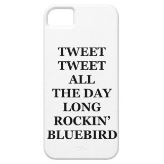 Tweet Tweet iPhone 5, Barely There iPhone SE/5/5s Case