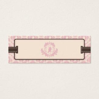 Tweet Tweet Pink Skinny Gift Tag 2