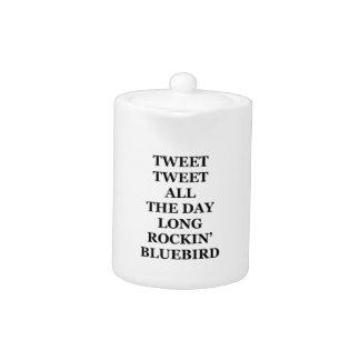 Tweet Tweet Small Teapot
