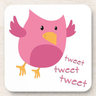 Tweet Tweet Tweet 1 Drink Coaster