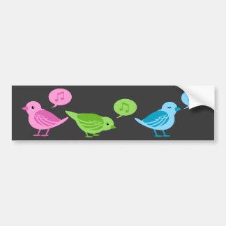 Tweet-Tweet-Tweet Funny twitter birds Bumper Sticker