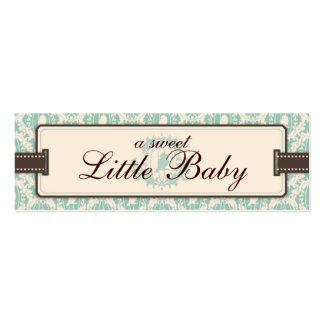 Tweet Tweet Twins Skinny Gift Tag Business Card