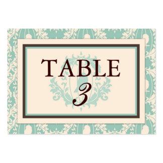 Tweet Tweet Twins Table Card Flat Business Card