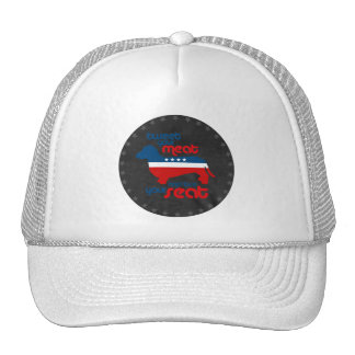 Tweet your meat and lose your seat - trucker hat