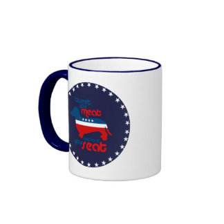 Tweet your meat and lose your seat - ringer coffee mug