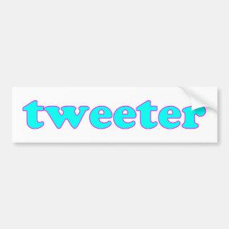 Tweeter Bumper Sticker
