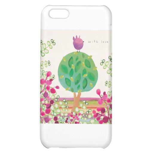 Tweeter Garden iPhone 5C Case