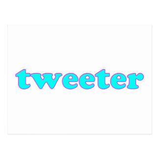 Tweeter Postcard