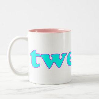 Tweeter Two-Tone Coffee Mug