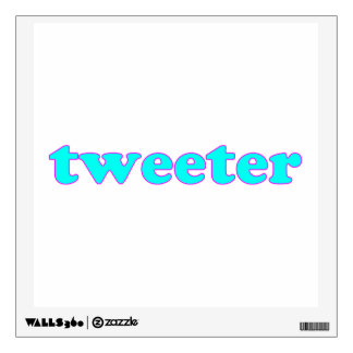 Tweeter Wall Sticker