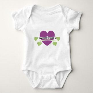 TweetHeart Baby Bodysuit