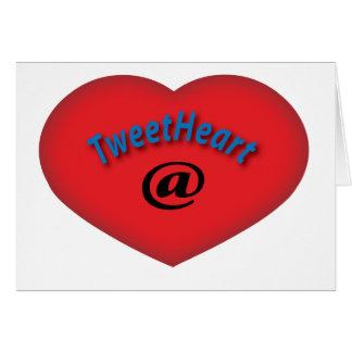 TweetHeart@ Card