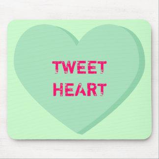 Tweetheart Conversation Heart Mousepad