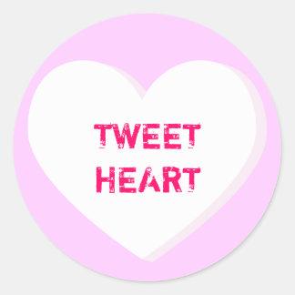 Tweetheart Conversation Heart Sticker