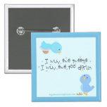 Tweetie and Darlin Pinback Buttons