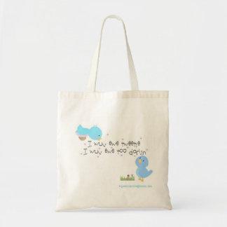 Tweetie and Darlin Tote Bag