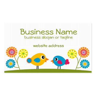 Tweeties 2 Double-Sided standard business cards (Pack of 100)