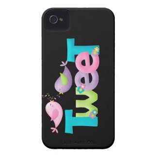 Tweeting Birds Casemate iPhone 4 Barely There Case