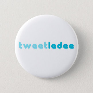 tweetledee pinback button
