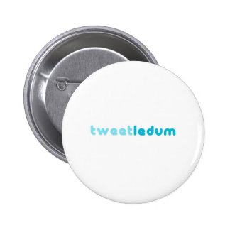 tweetledum 2 inch round button