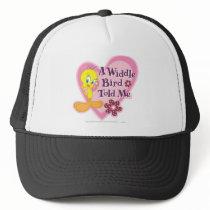 """Tweety """"A Widdle Bird Told Me"""" Trucker Hat"""