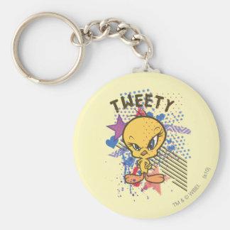 Tweety Angry 2 Keychain
