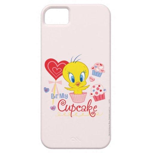 Tweety Be My Cupcake iPhone 5 Case