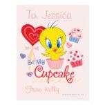 Tweety Be My Cupcake Post Card