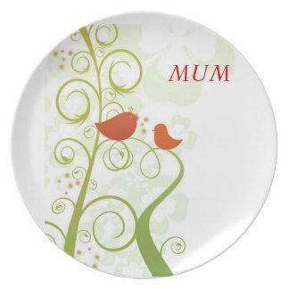 Tweety Bird Mum Plate