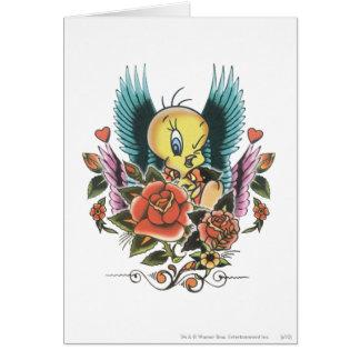 Tweety Blue Wings Tarjeta