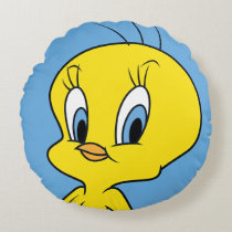 TWEETY™ |Clever Bird Round Pillow