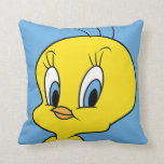 "TWEETY™ | Clever Bird Throw Pillow<br><div class=""desc"">This design features your favorite Looney Tunes Character,  Tweety™.</div>"