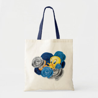 Tweety con los rosas bolsa de mano