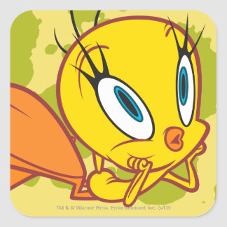 Tweety Daydreaming Square Sticker