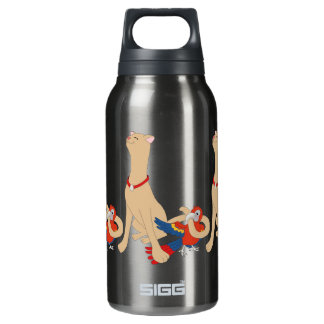 Tweety Dee and Tweety Dumb Insulated Water Bottle