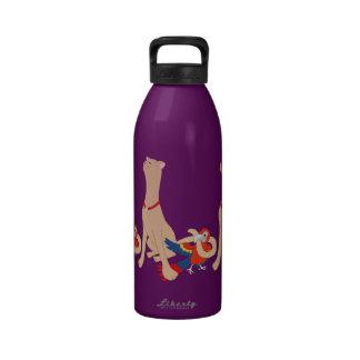 Tweety Dee and Tweety Dumb Reusable Water Bottle