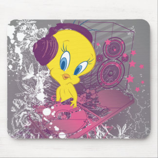 Tweety Djing Mouse Pad