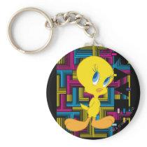 Tweety Electronic Color Keychain