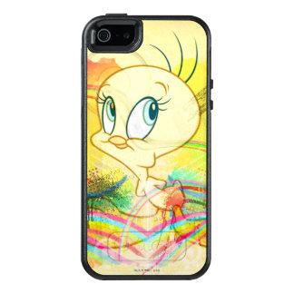 Tweety en arco iris funda otterbox para iPhone 5/5s/SE