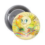 Tweety en arco iris pin