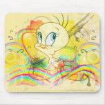 Tweety en arco iris tapetes de raton