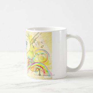 Tweety en arco iris tazas