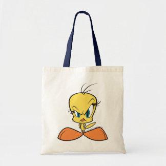 Tweety enojado bolsas de mano