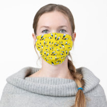 TWEETY™ Face Pattern Adult Cloth Face Mask